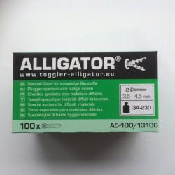 Toggler Alligator ravplugs uden krave
