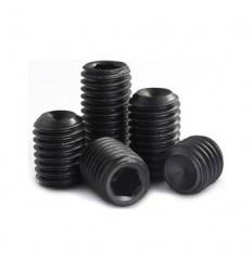 Pinolskruer sort DIN 916 45H