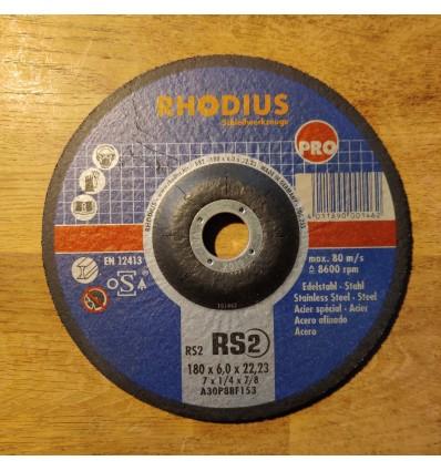 Skrubskive Rhodius 150x6