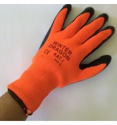 Vinter strik handsker